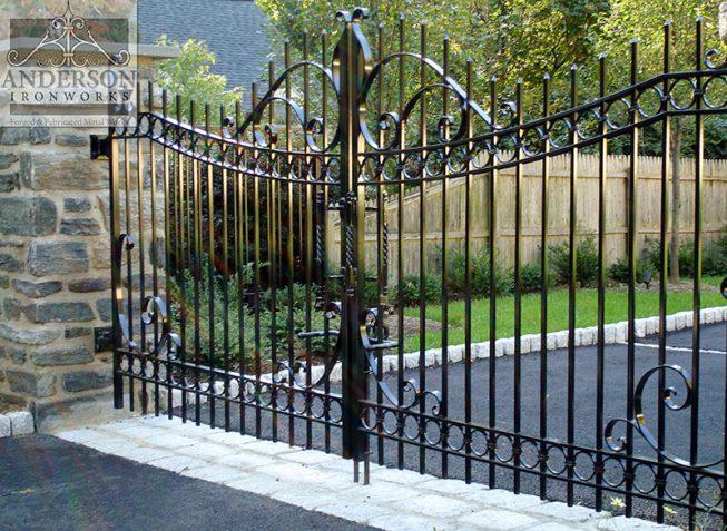custom wrought iron gates 1