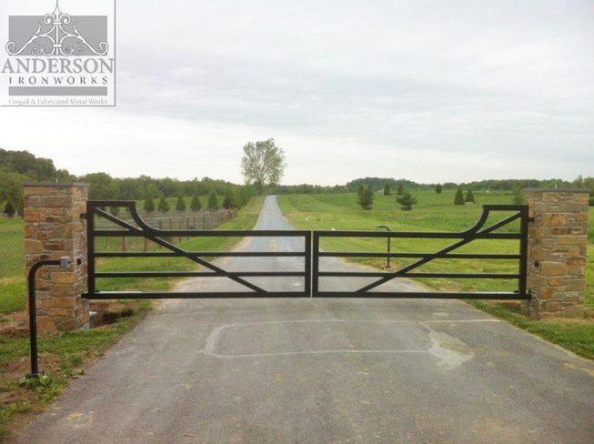 custom wrought iron gates 4