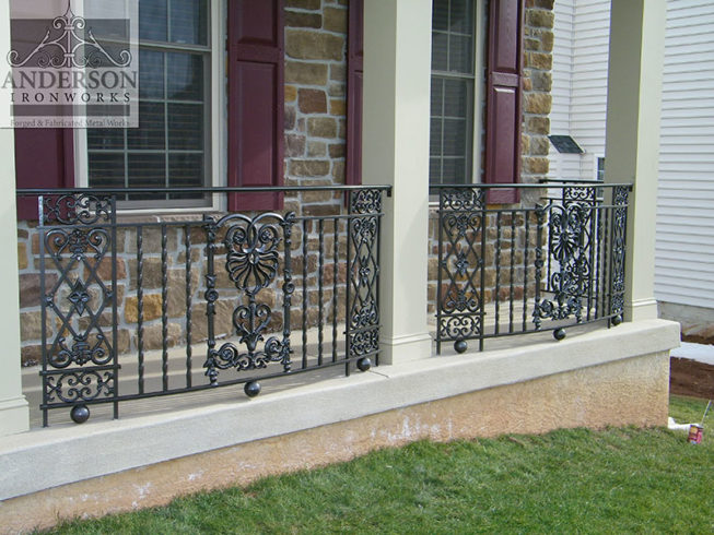 wrought iron railings philadelphia