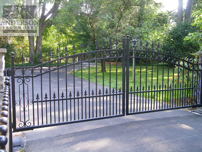 Wrought Iron Gates Is It A Good Material Anderson Ironworks