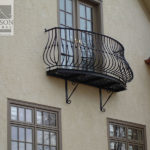 wrought iron balcony design